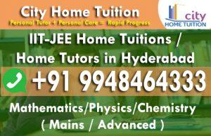 JEE Mathematics Tutors in Hyderabad