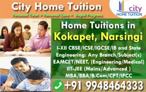 Home Tuitions in Kokapet