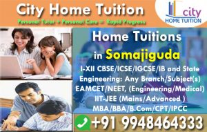 Home Tuitions in Somajiguda