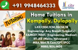 Home Tuitions in Kompally